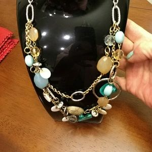 Jewelry - Mixed media necklace